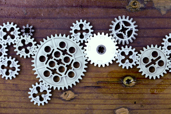 lego gears by Sonny Abesamis